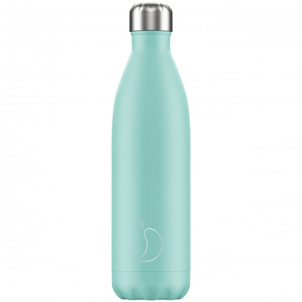 "CHILLY'S Bottle Isolierflasche ""Pastell Grün"" - 750 ml (Mint)"