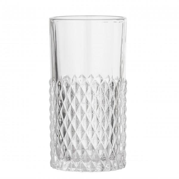 Elegantes Trinkglas aus der neuen Runa Kollektion von Bloomingville