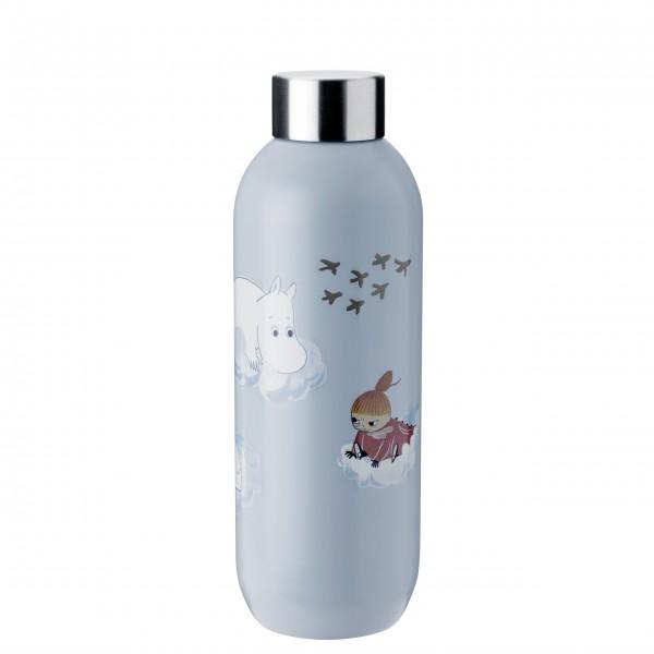 Wunderschöne Trinkflasche aus der neuen Moomins Kollektion von Stelton