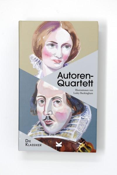 """Kartenspiel """"Autoren-Quartett. Die Klassiker"""" von Laurence King"""