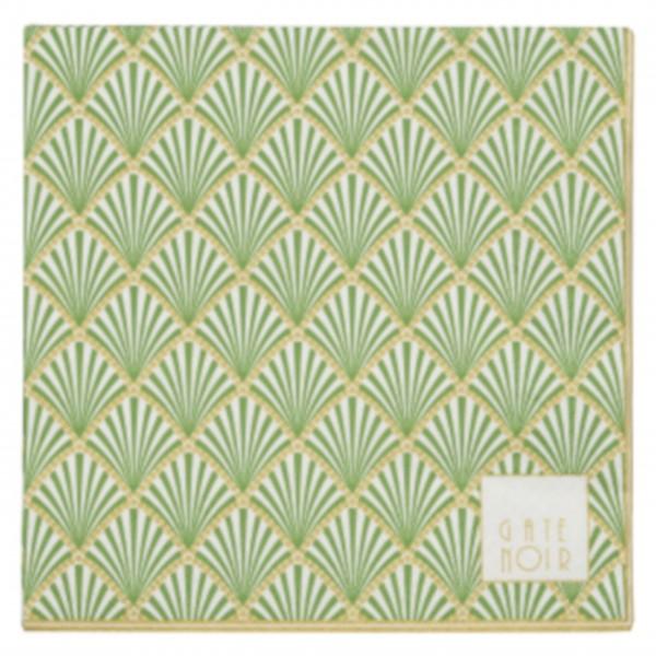 GreenGate Papierservietten (Grün)