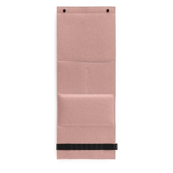Filz-Wandorganizer - 31x80x3 cm (Rosa/Powder) von HEY-SIGN