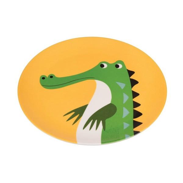 Krokodilteller aus Melamin