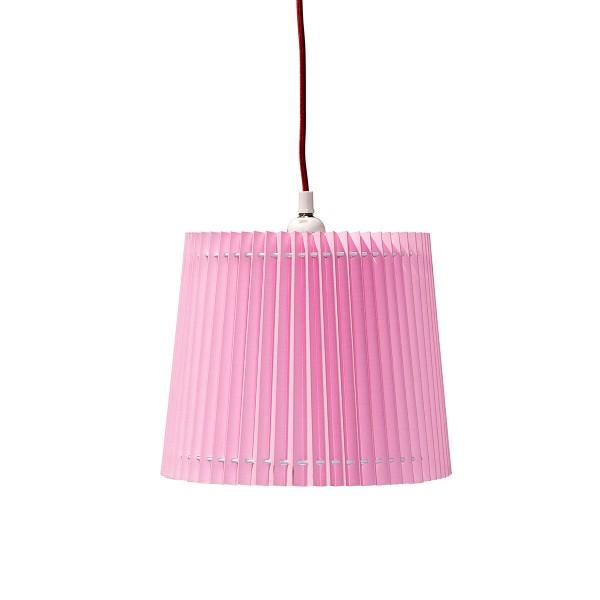 Kinderzimmerlampe mit rosa Lampenschirm