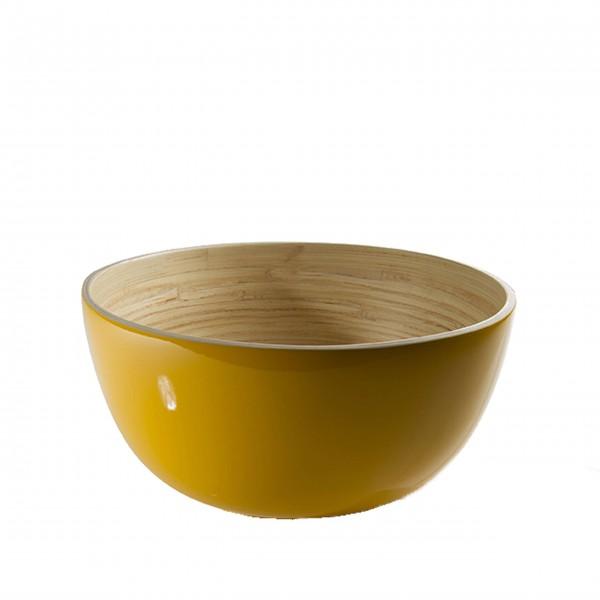 "bibol Salatschüssel aus Bambus ""TCHON"" - L (Soleil)"