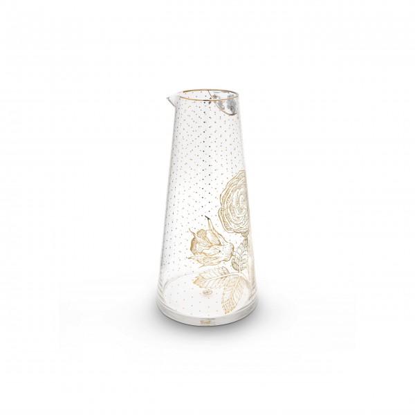 "Pip Studio Karaffe ""Royal Golden Flower"" - 1,7l"