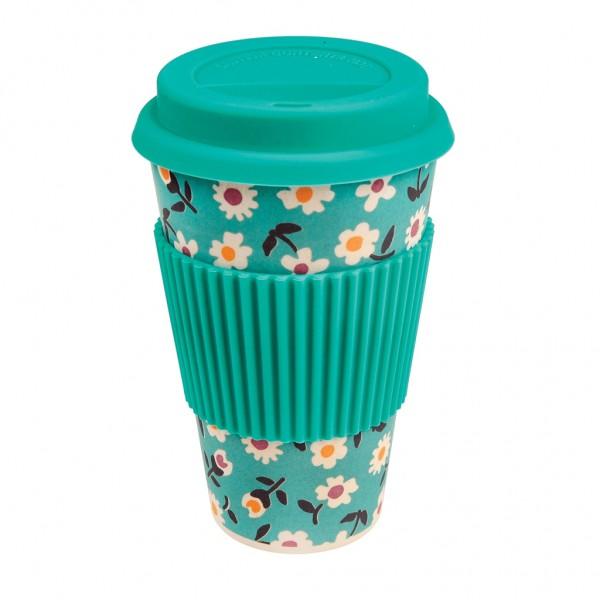 """Coffee to go Becher aus Bambus """"Daisy"""" von Rex LONDON"""