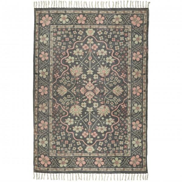 Ib Laursen Teppich - Blumenmuster