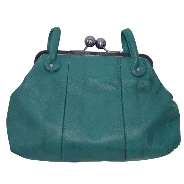 """Sticks and Stones """"Toulouse Bag Washed"""" (Petrol)"""