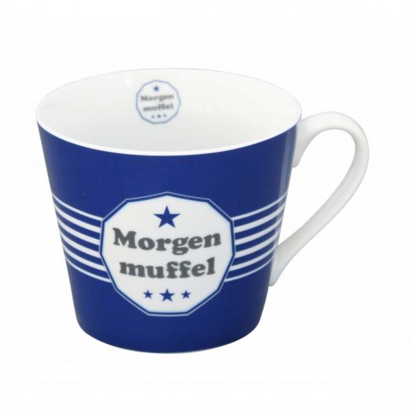 """Krasilnikoff Tasse """"Morgenmuffel"""""""