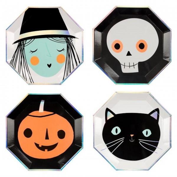 """Pappteller """"Halloween"""" von Meri Meri-1"""