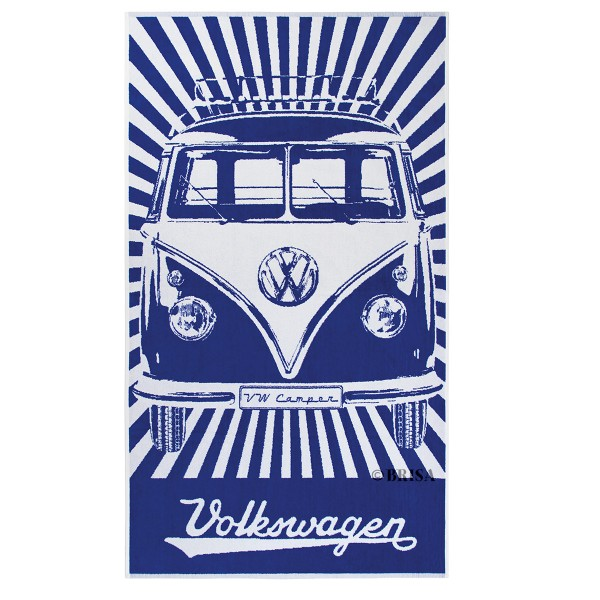 So cooler Look: VW-Bulli Design für Strand & Bad!