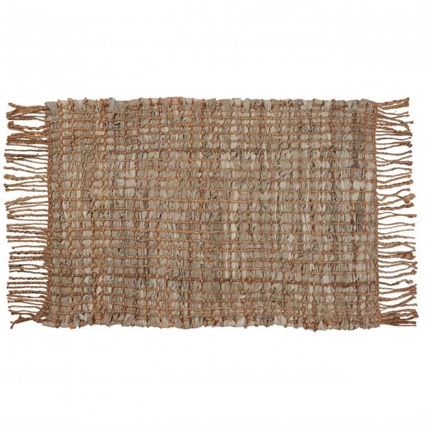 Kleiner Teppich mit dekorativen Fransen: von Ib Laursen