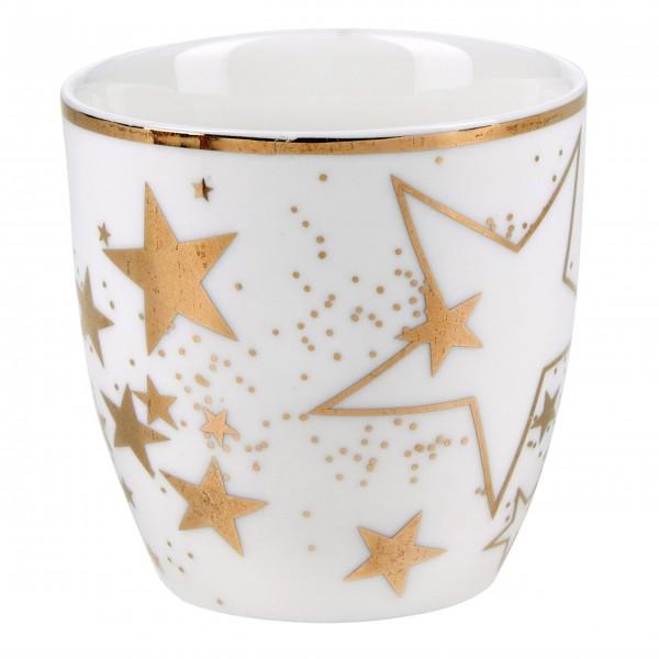 """Miss Étoile Teelichthalter """"Sterne"""" - Ø7 cm (Weiß)"""