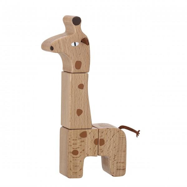 """Bloomingville Spielzeug-Giraffe """"Natur"""" (Braun)"""